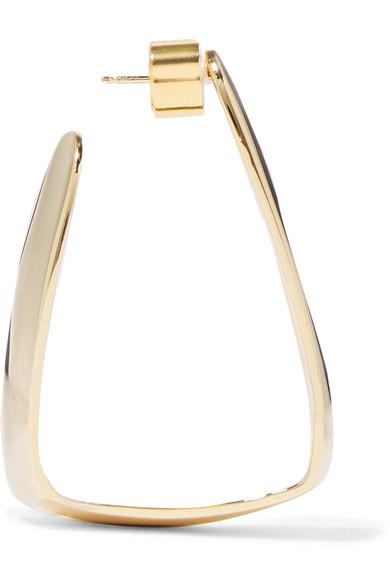 Jennifer Fisher Hammock Gold-plated Earrings LlyK5TTPWa
