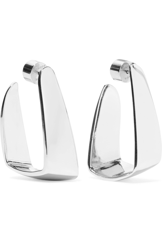 Jennifer Fisher Small Hammock silver-plated earrings