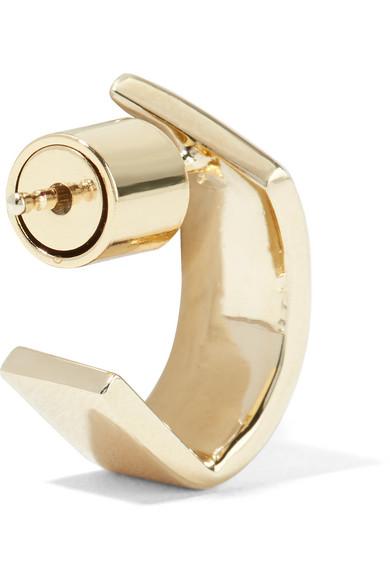Jennifer Fisher Pod Huggie Gold-plated Hoop Earrings BoUYKK