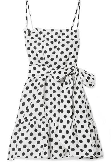 ee2d6c83bf Lisa Marie Fernandez. Liz polka-dot linen mini dress
