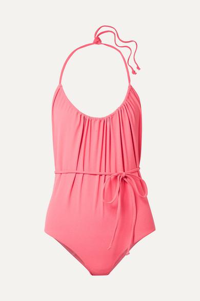 Lisa Marie Fernandez waist-tied halterneck swimsuit Cost Cheap Online Best For Sale BfqBgJ5U6