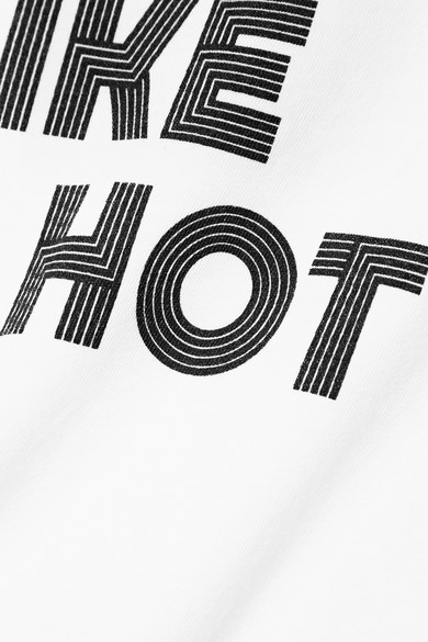 Paradised Tropic Like It's Hot bedrucktes T-Shirt aus Baumwoll-Jersey