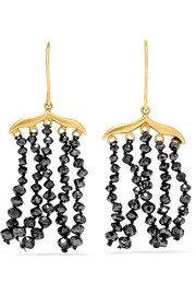 Boucles d'oreilles en or 18 carats et diamants