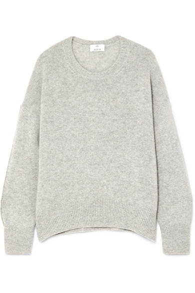 Allude Kaschmirpullover in Oversized-Passform