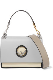 Fendi Kan I color-block leather shoulder bag