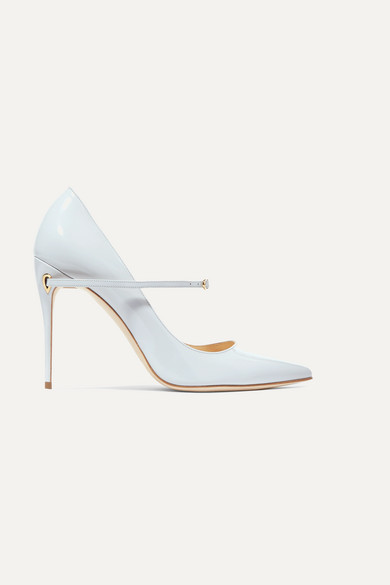 129a2f4cbb0 Jennifer Chamandi. Lorenzo 105 patent-leather pumps