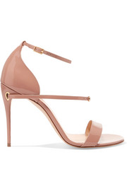 Rolando patent-leather sandals
