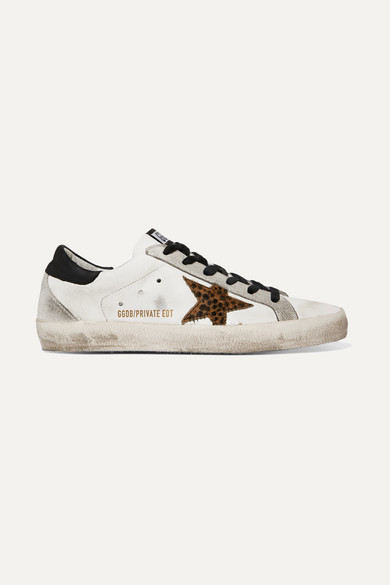 Golden Goose & Calf Hair Superstar Sneakers Good Selling Popular And Cheap Cool Shopping Low Cost Supply Cheap Price qADh9j7Z4H