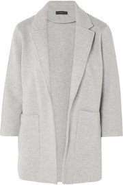 Hannah knitted cotton-blend blazer