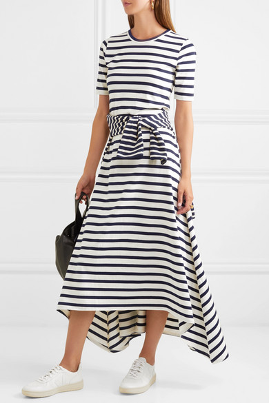 sunset-striped-cotton-jersey-maxi-dress by jcrew