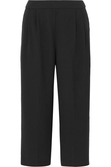 J.Crew - Crepe Wide-leg Culottes - Black