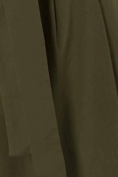Stretch Cotton Poplin Cropped Pants by J.Crew