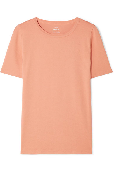 J.Crew - Perfect Fit Cotton-jersey T-shirt - Beige