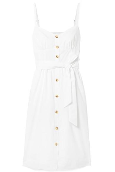 ROSSINI COTTON-POPLIN DRESS
