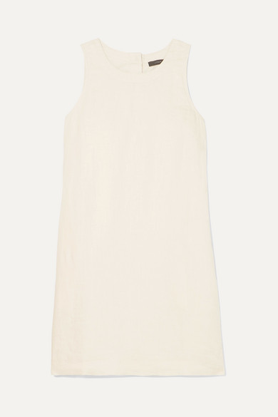 J.Crew - Franco Linen Mini Dress - Cream