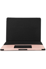 "Lizard-effect leather 12"" MacBook cover"