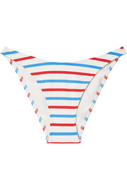 The Meghan striped bikini briefs