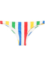 Solid & Striped The Rachel striped bikini briefs