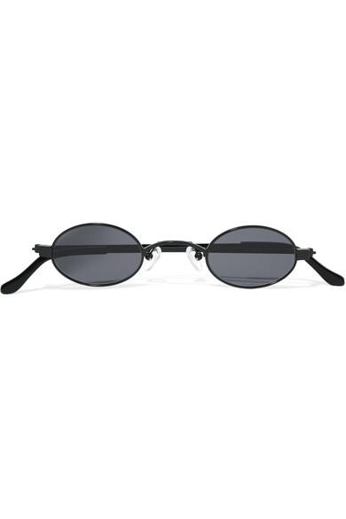 gafas y sol Oval Doris inoxidable acero de de Frame por acetato TxEwqI8w7