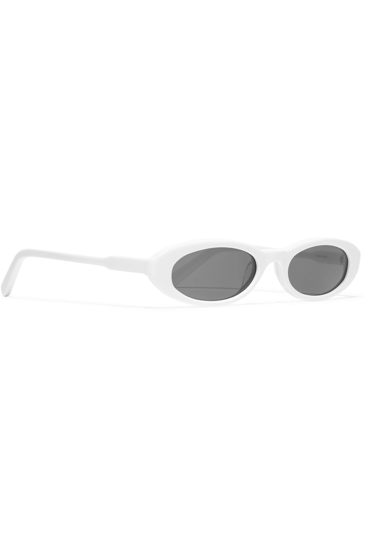CHIMI Joel Ighe oval-frame acetate sunglasses