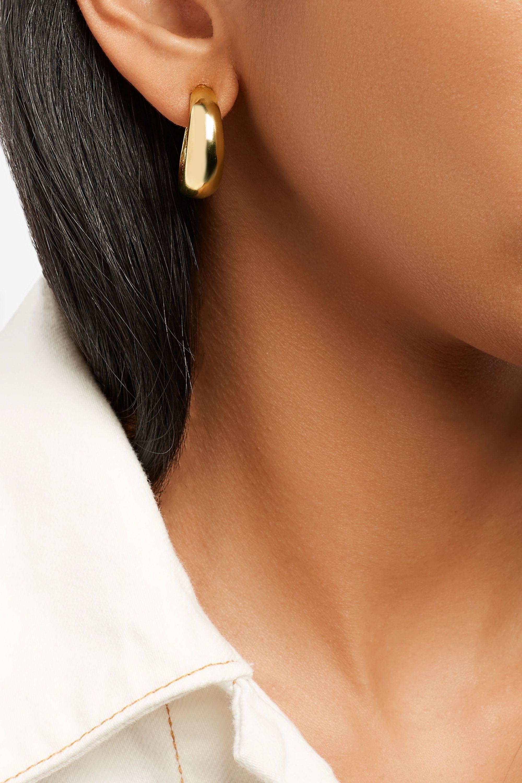 Kenneth Jay Lane Gold-plated earrings