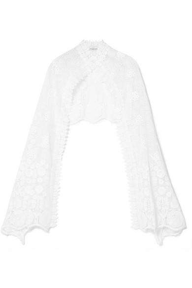 MIGUELINA EVIE CROCHETED COTTON WRAP