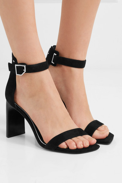 346348755a3 rag & bone   Ellis suede sandals   NET-A-PORTER.COM
