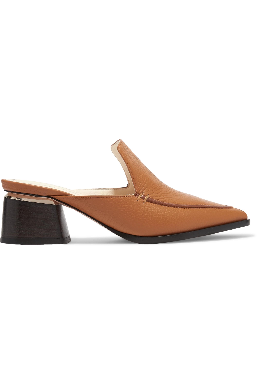 Nicholas Kirkwood Beya textured-leather mules