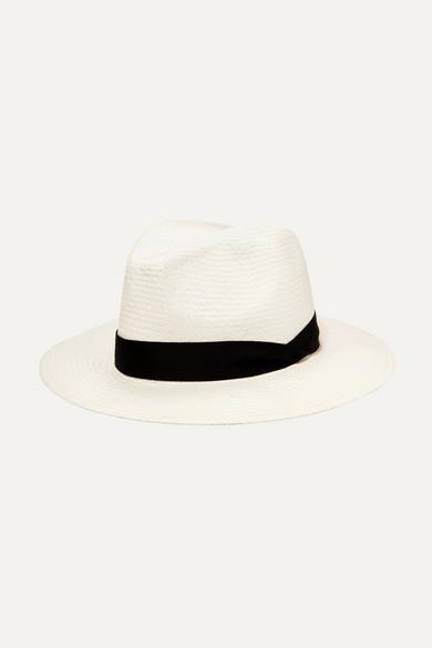rag bone female rag bone straw panama hat white