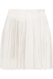 Elena Makri Antigone crinkled silk-tulle mini skirt