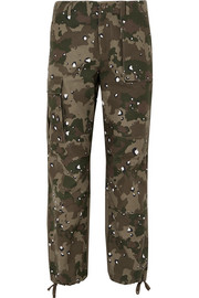 Kith Jada camouflage-print cotton-canvas straight-leg pants