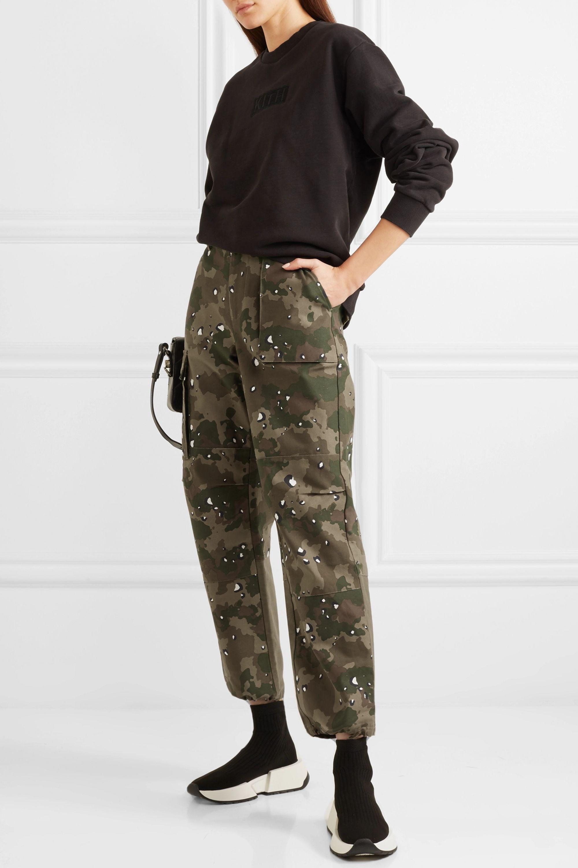Kith Jada camouflage-print cotton-canvas straight-leg pants
