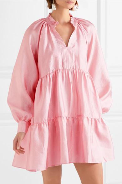 Goya Mini A Jasmine com Dress Tiered Stine Net Cloqué Porter dFZHdq