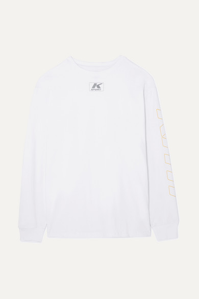 KITH SONOMA OVERSIZED COTTON-JERSEY TOP