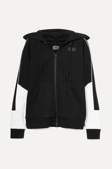 KITH BRISTOL OVERSIZED PRINTED COTTON-FLEECE HOODED TOP