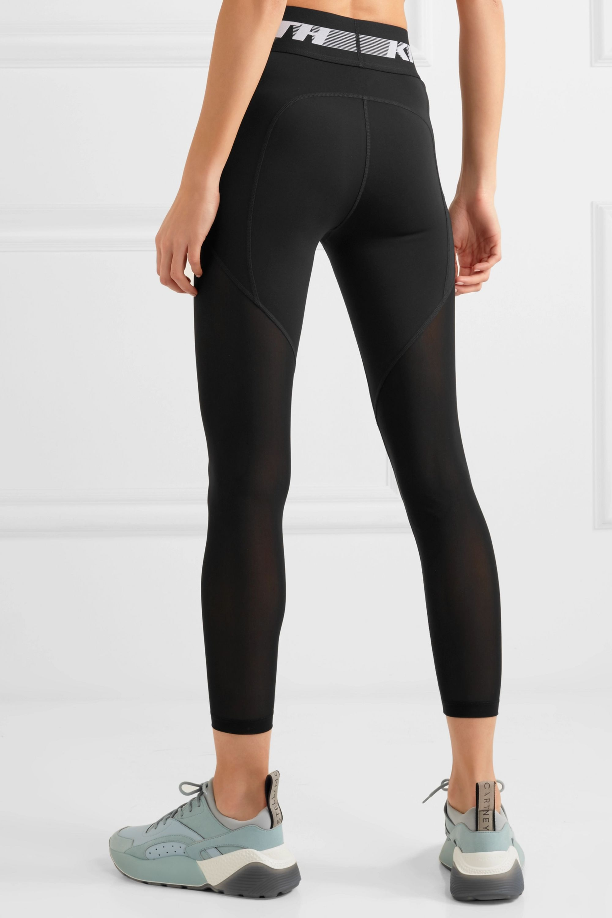 Kith Cody Cooling mesh-paneled stretch-jersey leggings
