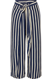 Faithfull The Brand Mazur striped voile wide-leg pants