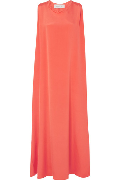 Valentino Maxi Dress In Silk