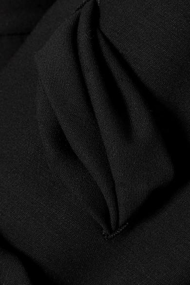 Valentino Minikleid aus Wolle mit Schnürung