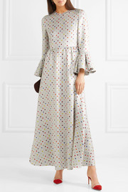 Valentino Polka-dot lamé gown