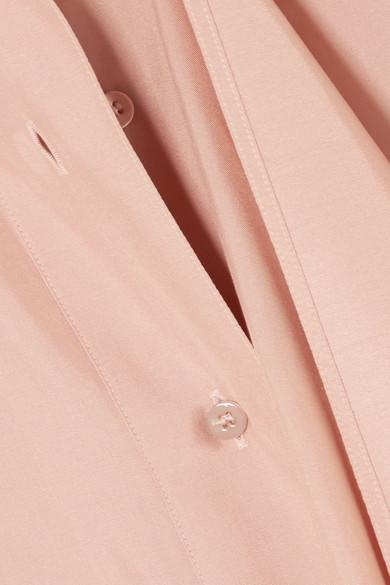 Valentino Tunika aus drapierter Seide mit Schluppe