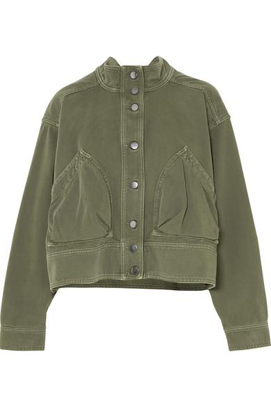 Freies Verschiffen Nicekicks Rabatt Erstaunlicher Preis Valentino Oversized-Jacke aus Baumwoll-Twill Outlet Besten Preise Aus Deutschland Kn63K5dM