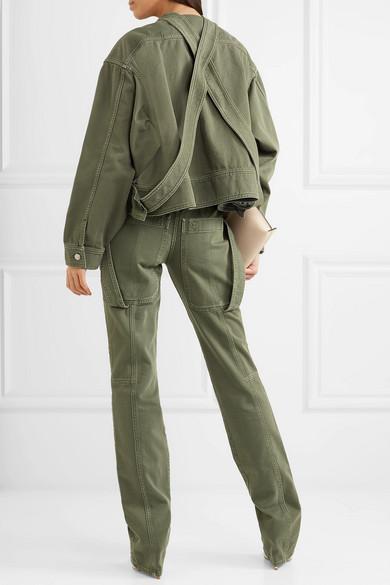 Valentino Oversized-Jacke aus Baumwoll-Twill