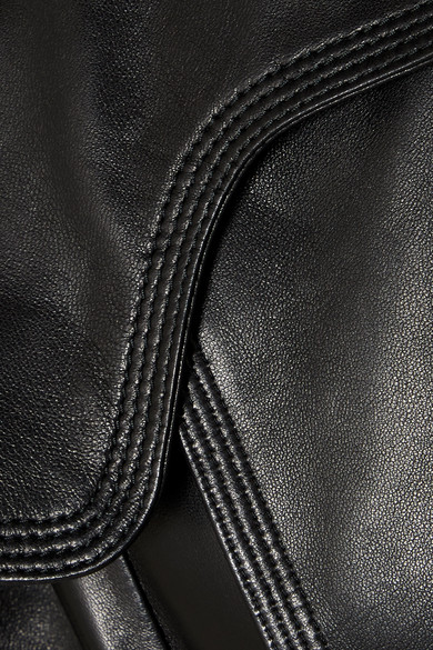 Valentino Mehrlagige Bikerjacke aus Leder