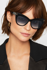 Nika cat-eye acetate sunglasses