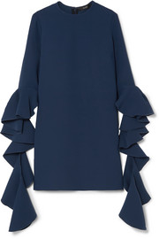 Ellery Kilkenny ruffled crepe mini dress
