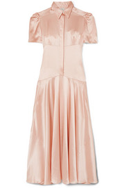 Hillier Bartley Plimpton silk-satin midi dress