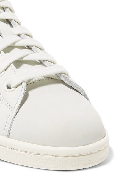 more photos e4e44 fd786 Stan Smith Premium textured-leather and nubuck sneakers