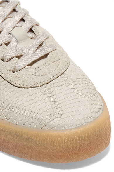 adidas Originals   Samba Rose Veloursleder Sneakers aus Leder und Veloursleder Rose mit Schlangeneffekt und Plateausohle 82d36b