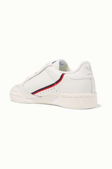 Continental 80 Sneakers aus Leder mit Ripsbandbesatz